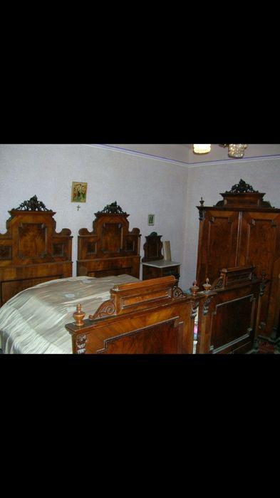 Mobila de dormitor Biedermeier antica