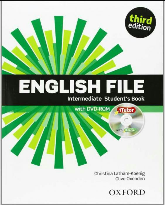 English file intermediate student's & work book third edition Oxford