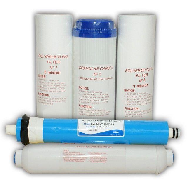 Set consumabile osmoza cu 5 etape de filtrare (contine membrana)