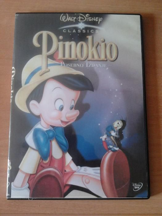 DVD original Disney Classics - Pinocchio