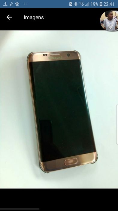 Troco um Galaxy S7 edge + Auricular Sony Bluetooth por um iPhone 7