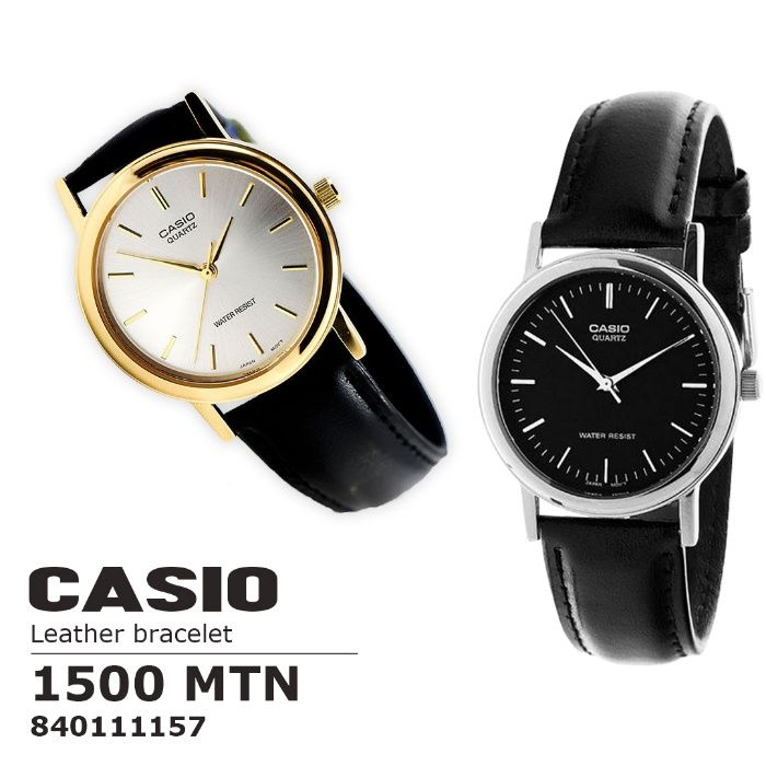 Super promocao de relogios CASIO Leather Bracelet