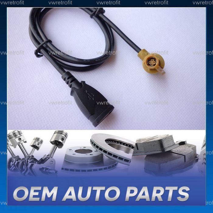 Cablaj pentru media USB INPUT pentru VW Golf 5, Golf 6, Jetta RCD 510