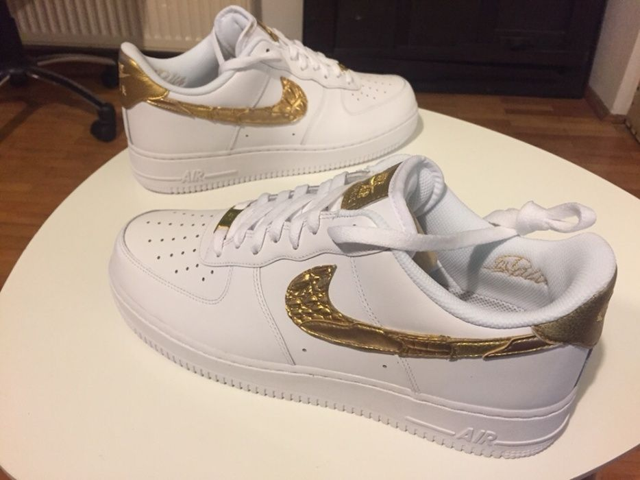 Nike Air Force 1 CR7 Golden Patchwork Cristiano Ronaldo 45.5