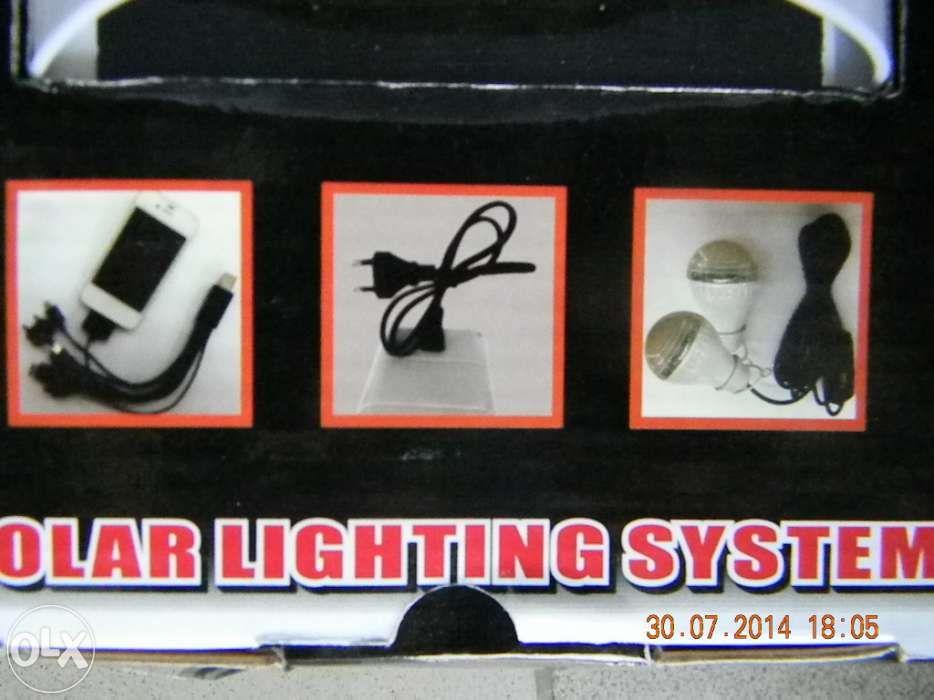 panou solar kit complet LANTERNA CAP