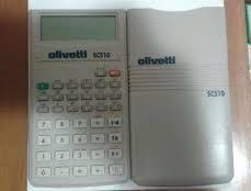 calculator stintific Olivetti