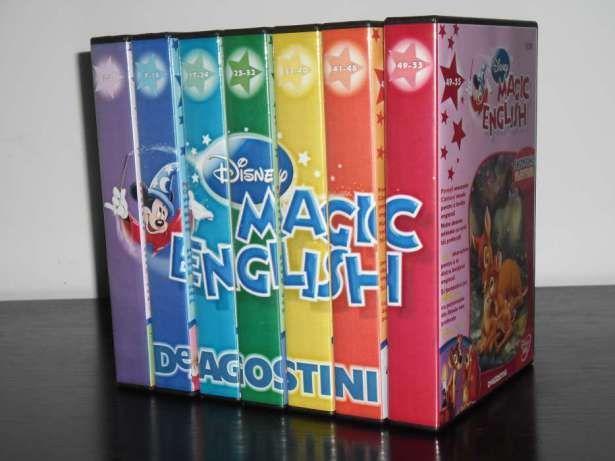 Disney Magic English 55 DVD-uri Desene animate