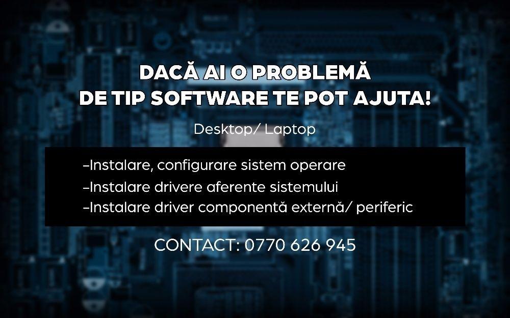 instalez windows/software-uri la cerere 60 lei