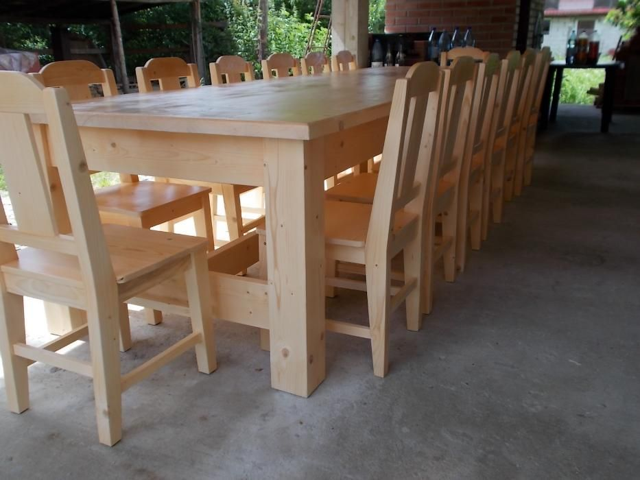 Masa din lemn masiv cod MBN 012