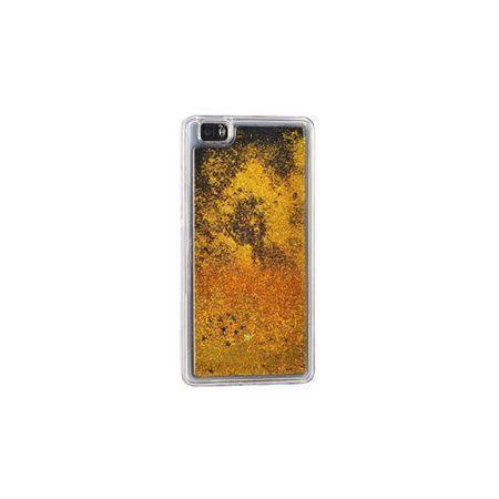 husa telefon huawei p8 lite Y6 Pro sclipici stelute gel transparent