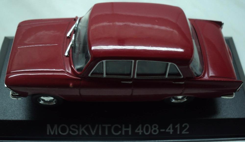 Macheta Auto Metalica (De Colectie) MOSKVITCH 408-412 NOUA