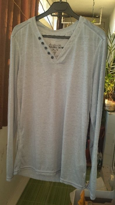 Bluza tricou Smog ,barbati,Slim Fit, mar. M/L