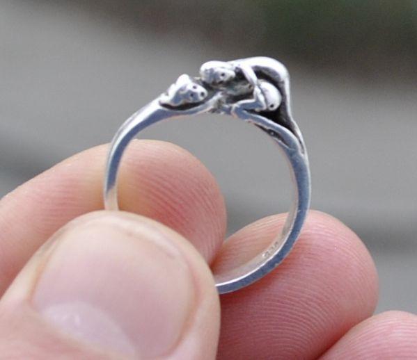 inel argint xxx