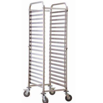 Стелаж за транспортиране на 15 бр тави 60х40 или ГН1/1инокс