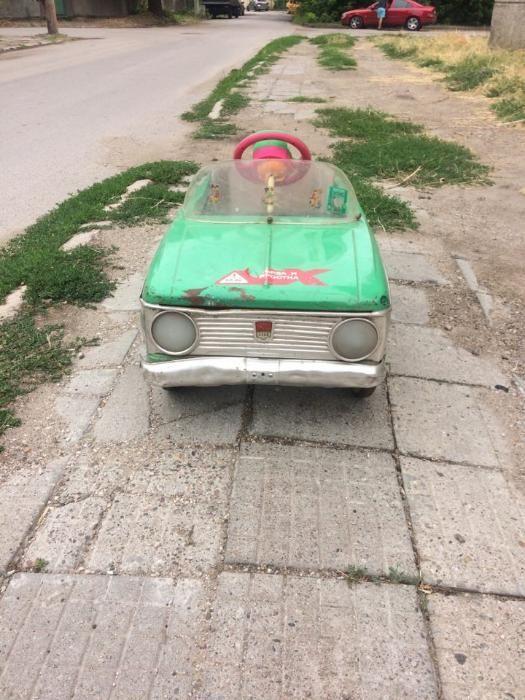 москвич с педали