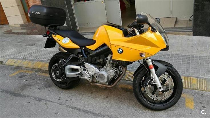 BMW F800S спойлер