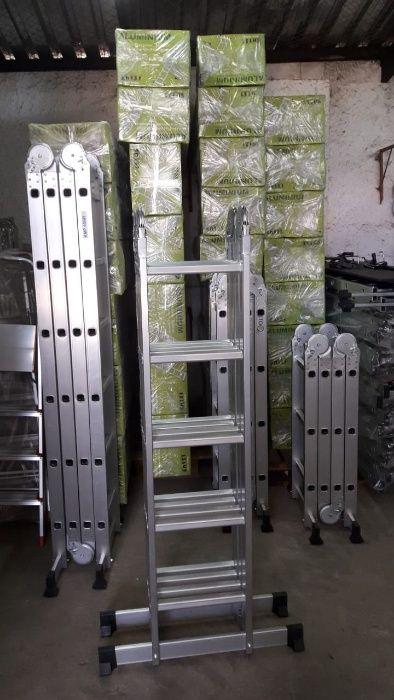 Escadotes articulados em alumínio alta qualidade modelo KMP405B