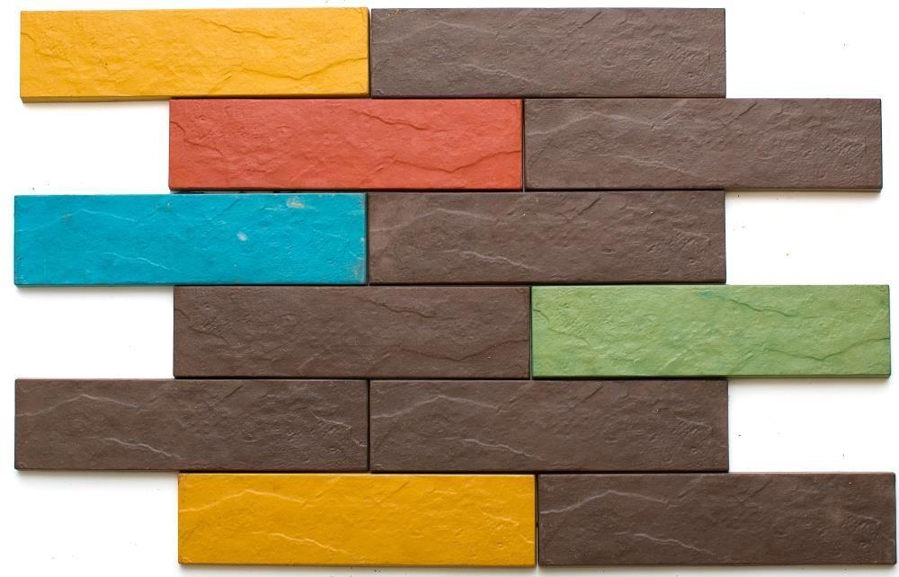 Плитка для цоколя Ekam-бетон - ГАРАНТИЯ 25 лет