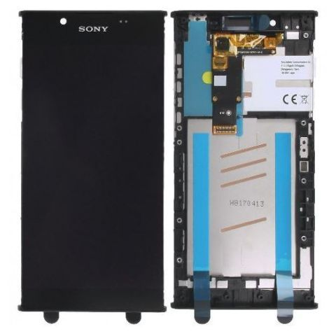 Display cu touchscreen si rama Sony G3311, G3312, G3313, Xperia L1