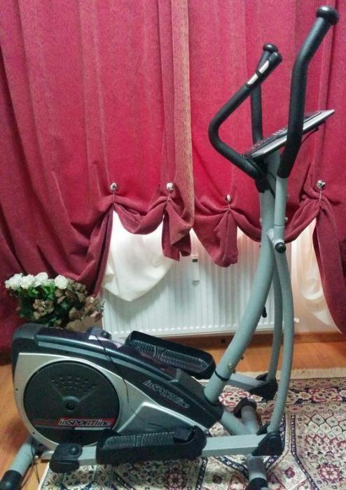 Bicicleta eliptica magnetica ergometru electronica Insportline DENVER