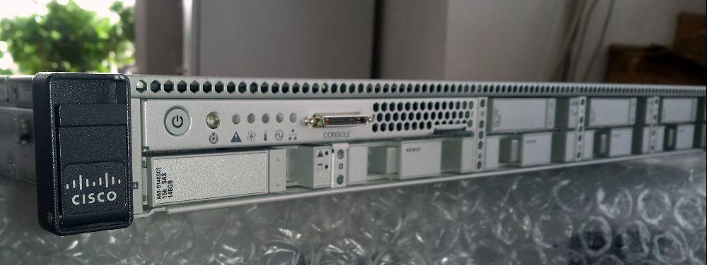 Сървър Cisco UCS C220 M3 2*E5-2670 8C 2.6/3.3GHz 32GB LSI RAID SFF