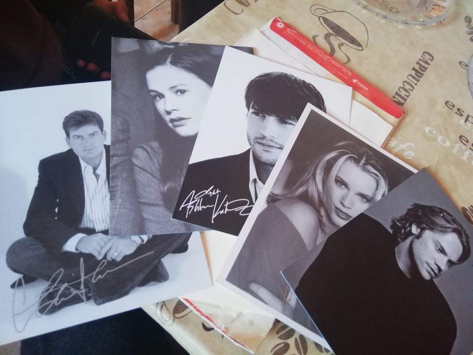 Poze actori cu autograf + livrare gratuita