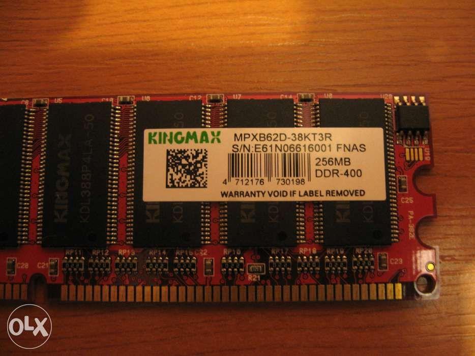 256MB, DDR, 400MHz, KINGMAX, Modul Memorie RAM - DESKTOP