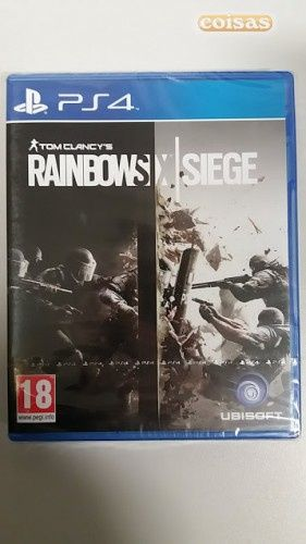 Jogo Rainboe Six Siege Ps4