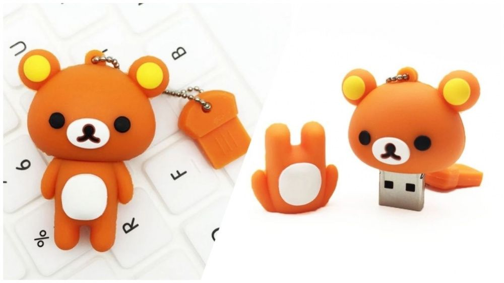 Chaveiro Flash Urso 8Gb