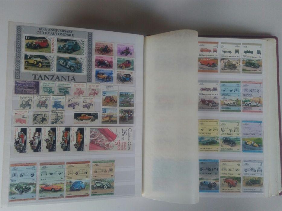 Разпродажба на най-богатата колекция от пощенски марки с автомобили