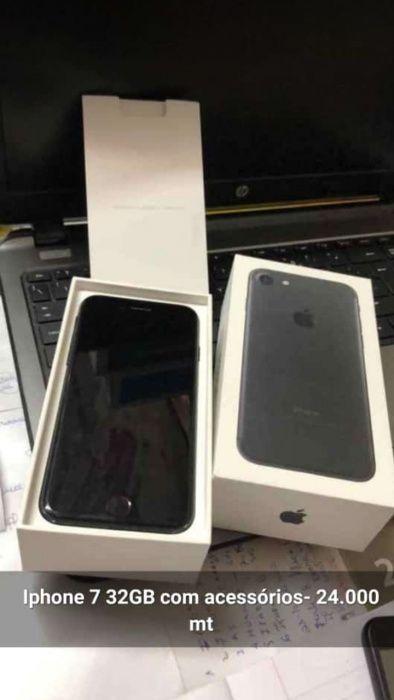 Iphone 7 32g com caixa e todos acessorios