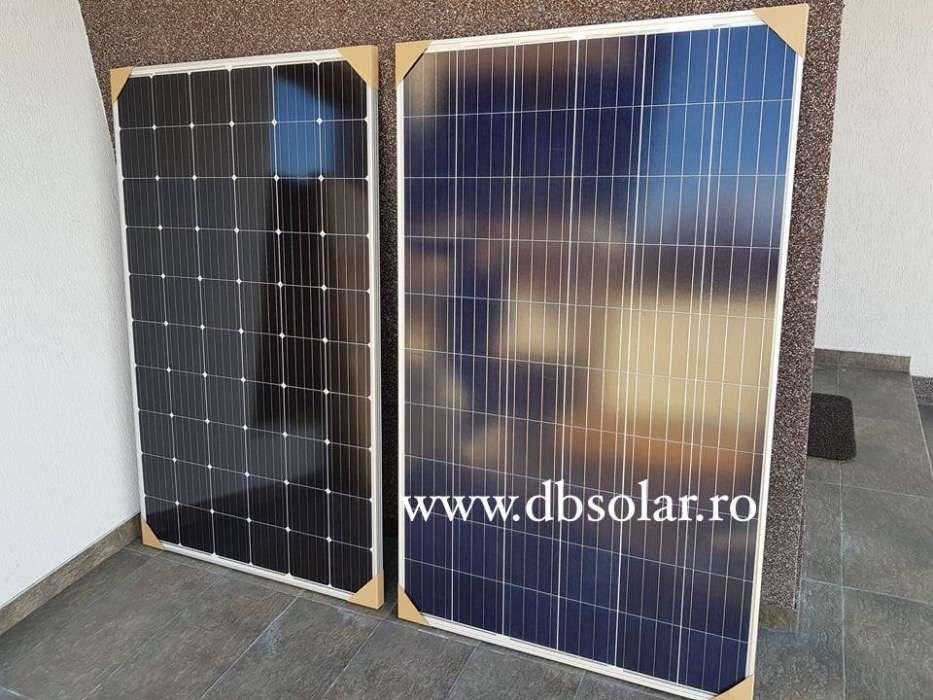 PANOURI SOLARE POLICRISTALINE 260W NOI fotovoltaice curent panou 24V‼️ Bucuresti - imagine 7