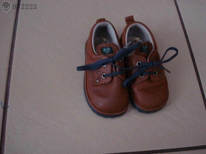Кожени обувки Кид Ленд