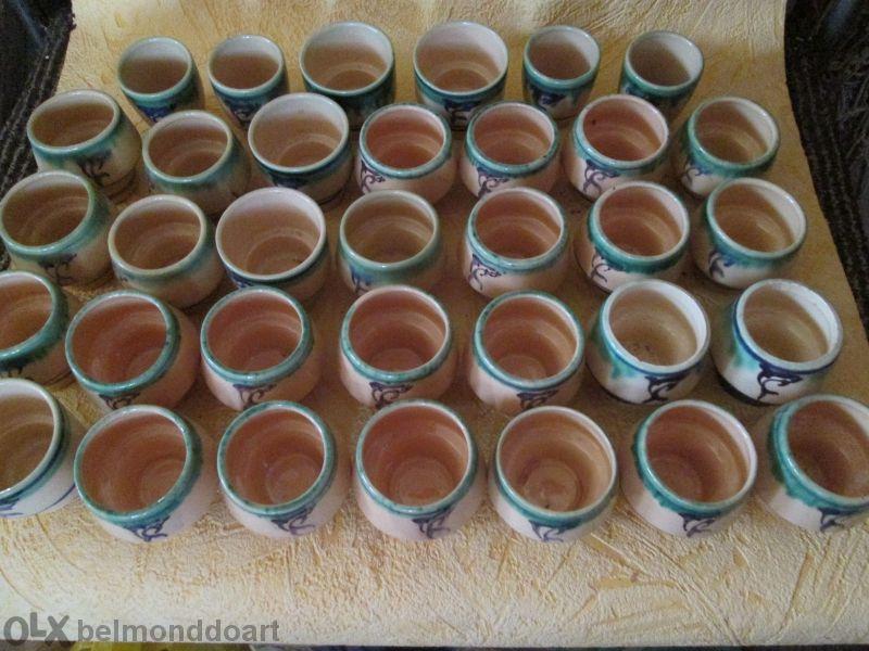Продавам Нови Чаши 30 + 4 За Ракия