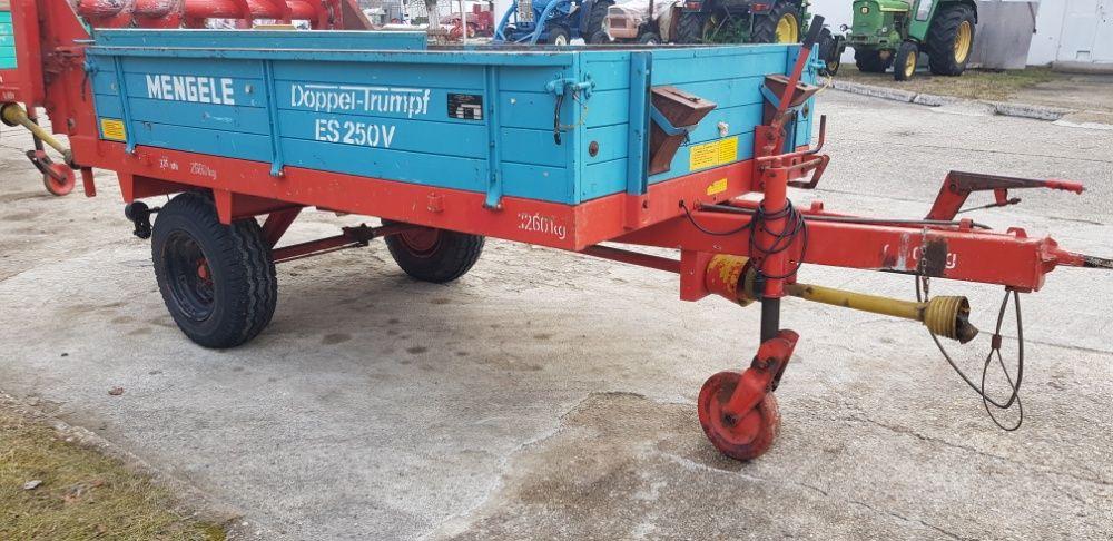 Remorca pentru transport si imprastiat gunoi de grajd MENGELE Hunedoara - imagine 4