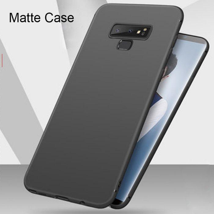 Samsung Note 9 - Husa Ultra Slim Silicon Negru, Black
