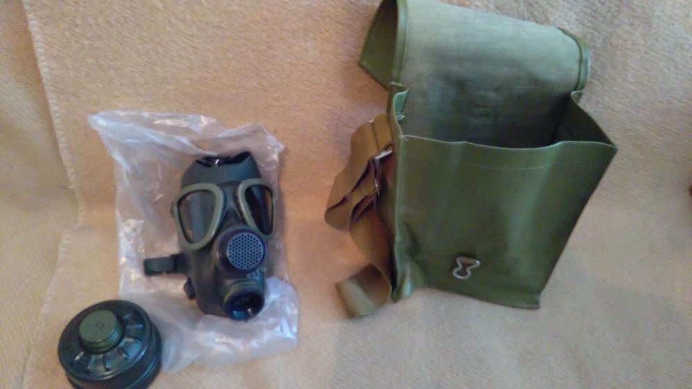 masca gaze model 74 geanta, filtru NOUA pentru purtat