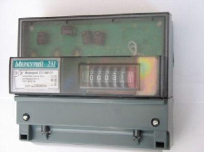 Счетчик электрический трехфазный