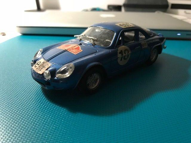 Macheta auto Alpine Renault 1600 monte carlo polistil 1/25