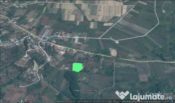 Vanzare  terenuri constructii  4700 mp Maramures, Remetea Chioarului  - 15000 EURO