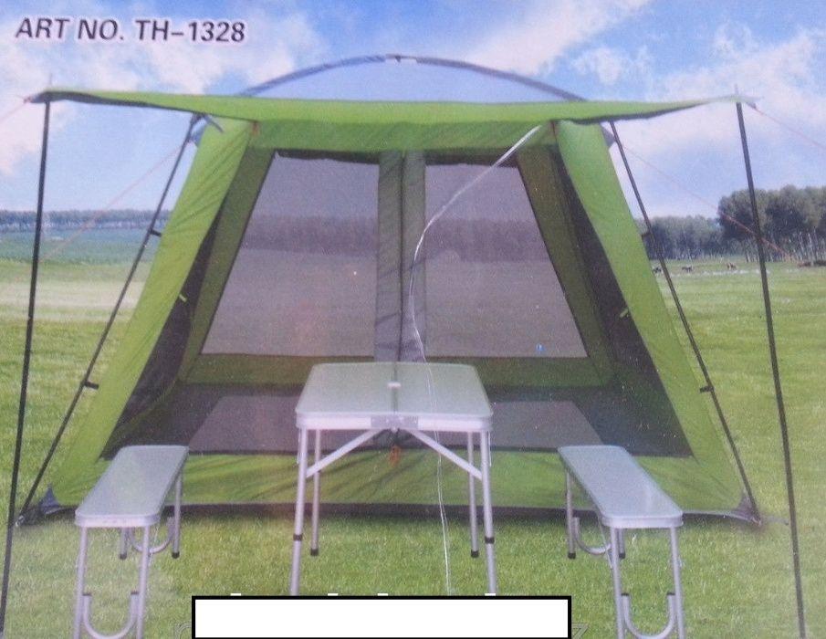 Палатка -шатер TUOHAI RT-1328 (3м на 3м) с полом. Акция!