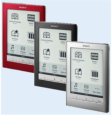 "Електронен четец / ereader Sony PRS-600 6"" E-ink Audio"