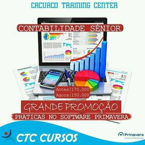 Curso de contabilidade Sénior com estágio prático
