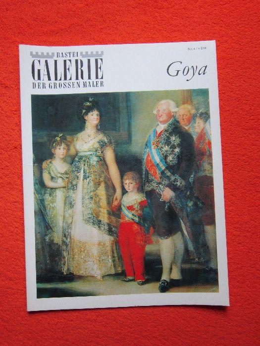 Vintage album Goya -Bastei Galerie der großen Maler -