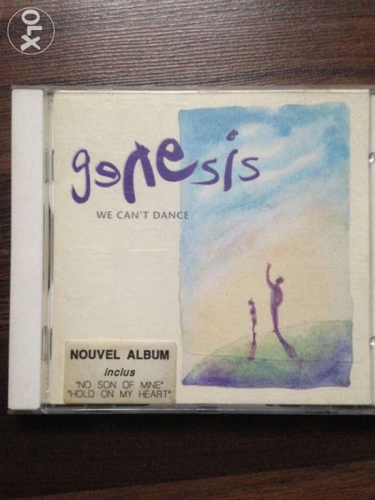 Cd original Genesis We can dance muzica pop rock Phil Collins