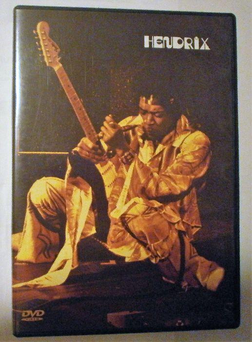 DVD ORIGINAL Jimi Hendrix Live The Band of Gypsys