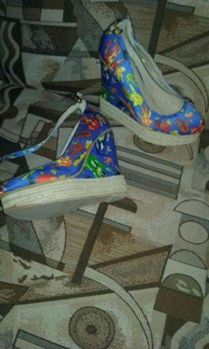 Pantofi platformă