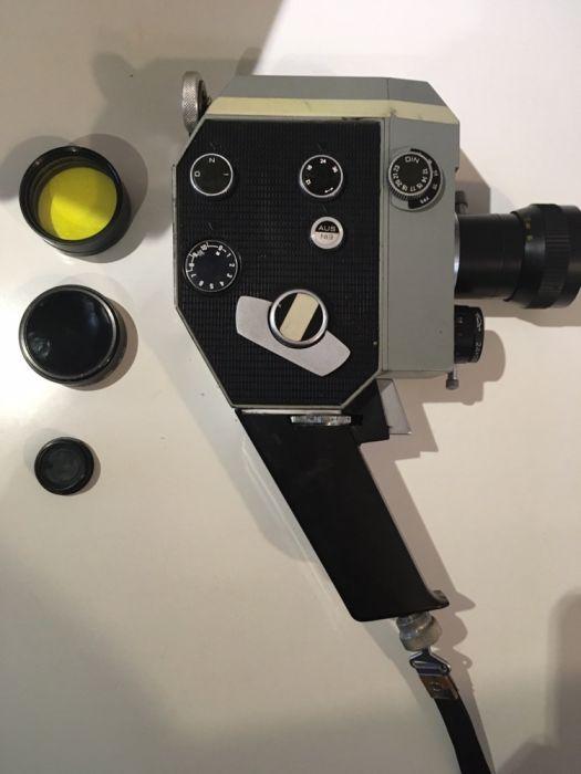 Camera video ruseasca- schimb cu ceas de buzunar