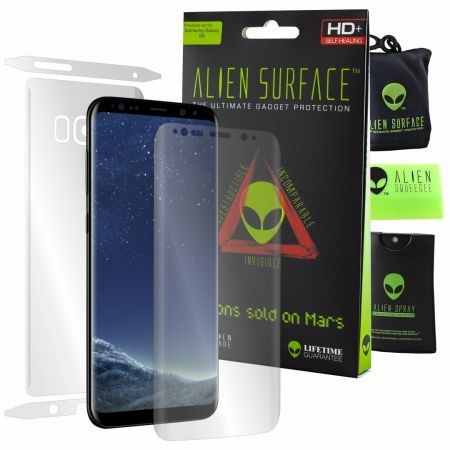 Folie Alien Surface HD,Samsung GALAXY S8,protectie ecran,spate,lateral