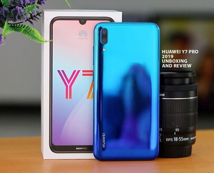 Huawei Y7 Pro 2019 *novo na caixa*